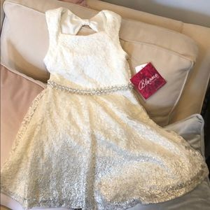 Girls fancy BLOOME DE JEUNE FILLE dress